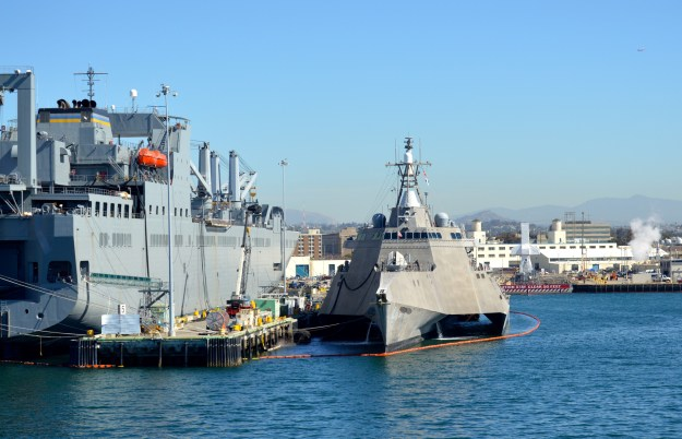 Littoral Combat Ship Montgomery Completes 2-Phase Builders Trials
