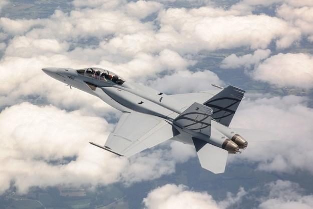 F/A-18E-F Super Hornet. Boeing photo.