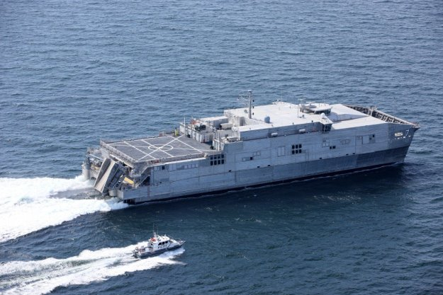 Austal USA Awarded $249M for Two Expeditionary Fast Transports; Launches Latest Hull