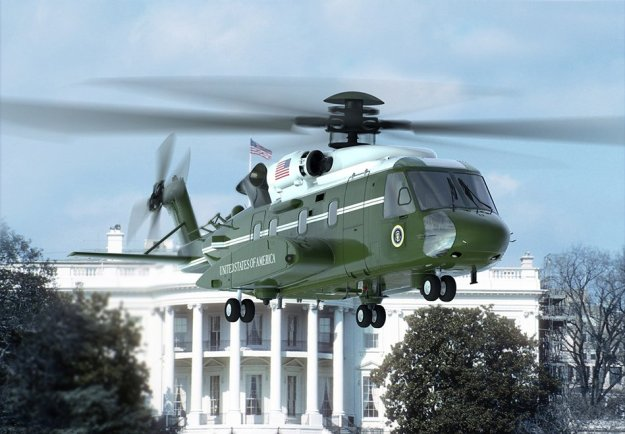 An artist's rendering of the planned Sikorsky VH-92A presidential helicopter. Sikorsky Image