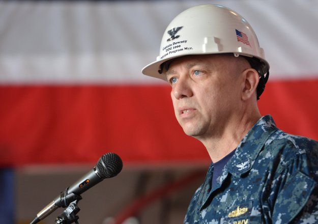 Downey Takes Command of Regional Maintenance Centers; Galinis To Become PEO Ships