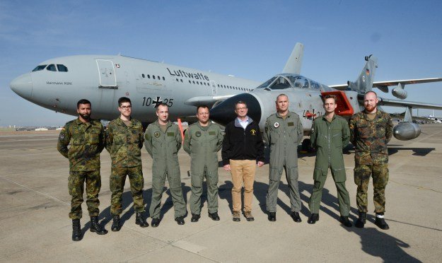 Secretary of Defense Ash Carter has used visits to Incirlik Air Base, such as his December 2015 visit above, to discuss accelerating the campaign against the Islamic State of Iraq and the Levant, or ISIL. US Army photo.