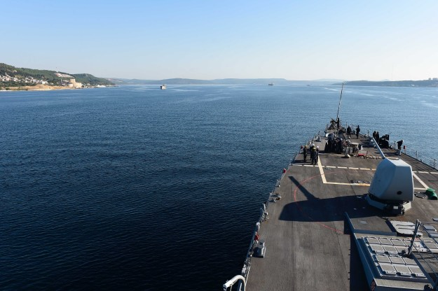U.S. Destroyer, Amphib to Black Sea for Sea Breeze Exercise