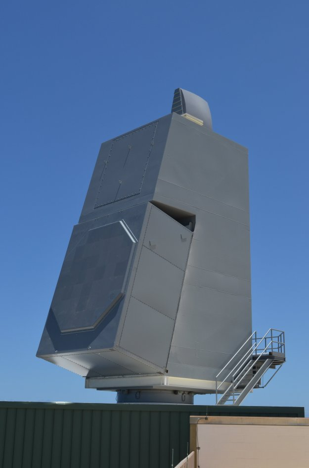 Test array for the AN/SPY-6(v) at the Pacific Missile Range Facility in Hawaii. Raytheon Photo