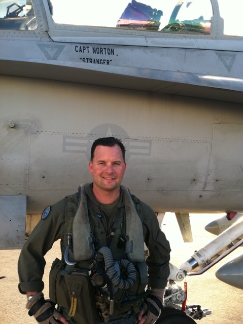 Maj. RIchard Norton. Photo via US Marine Corps
