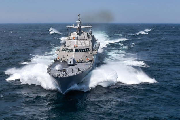 LCS Detroit Delivers to Navy