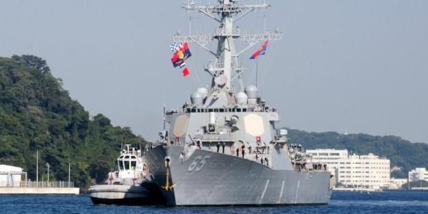 First U.S. Destroyer Visits China Since South China Sea Ruling