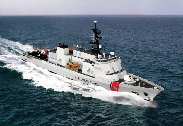 Eastern Shipbuilding Wins Coast Guard Offshore Patrol Cutter Award; Bests BIW, Bollinger