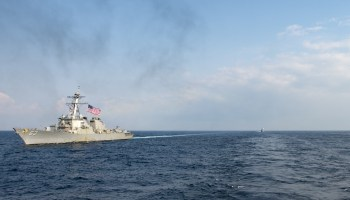 UPDATED: USS Stethem Conducts Freedom of Navigation Operation Past Triton Island in South China Sea