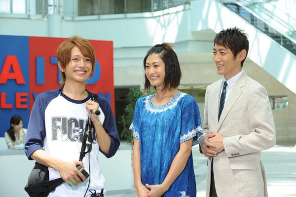 AAAの西島隆弘が、山田優主演ドラマ『崖っぷちのエリー』8月20日OAに出演決定!