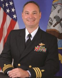 Cdr. Michael Service, 2014 Outstanding Alumnus