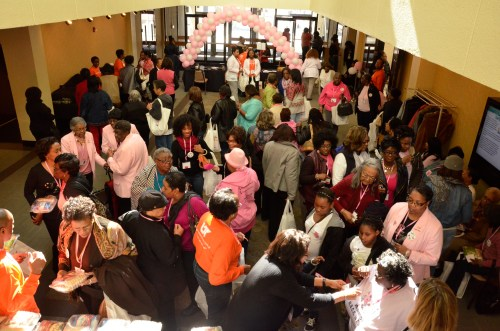 More than 530 women attended the LIVE! breast cancer summit at UTHSC.