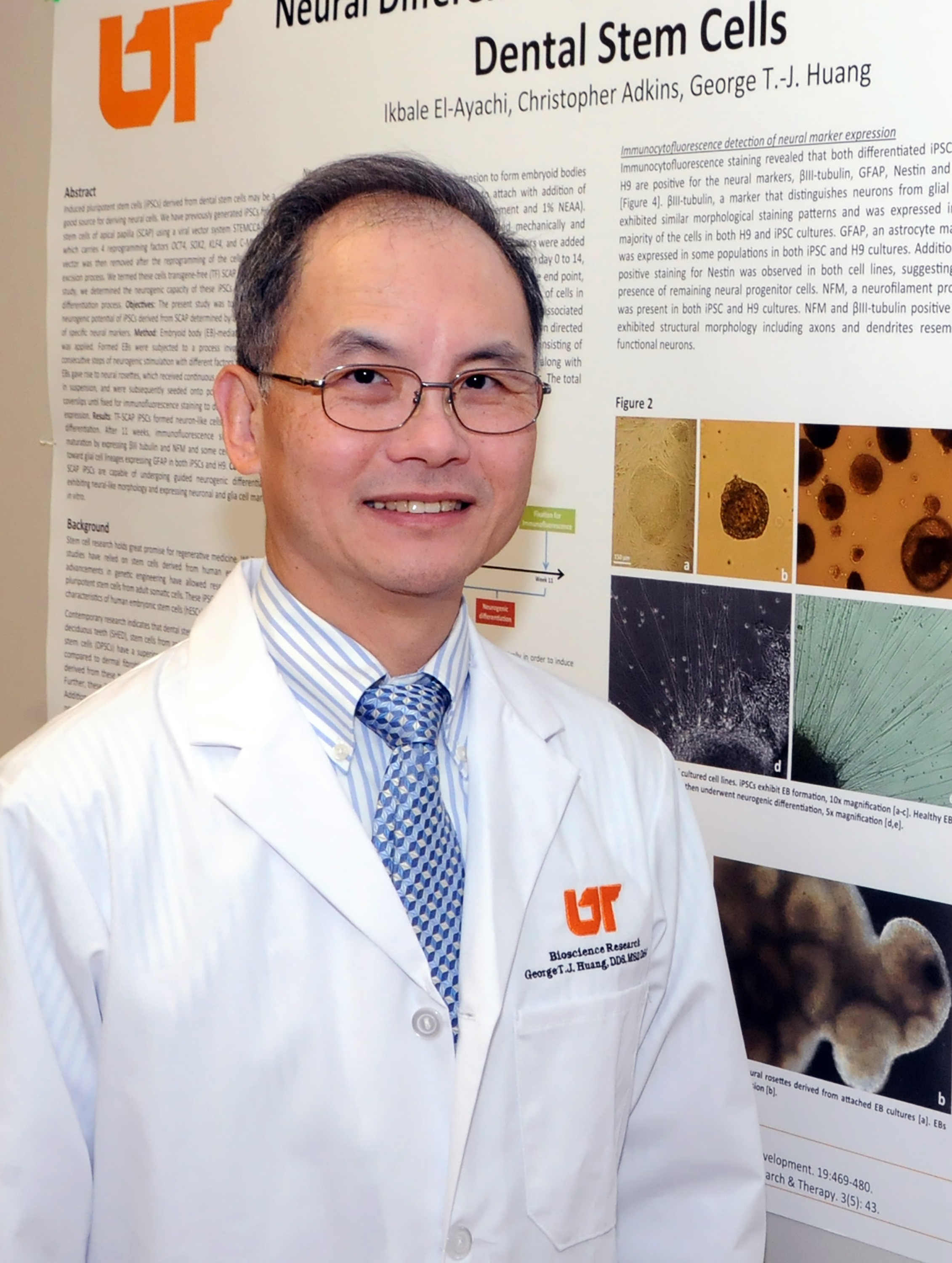 Dr. George Huang is the 2015 Recipient of the Distinguished Scientist Award in Pulp Biology and Regeneration from the International Association for Dental Research.