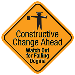 Curriculum Change Sign2