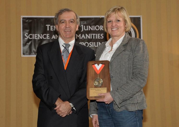 TJSHS's 2012 Teacher Mentor Award