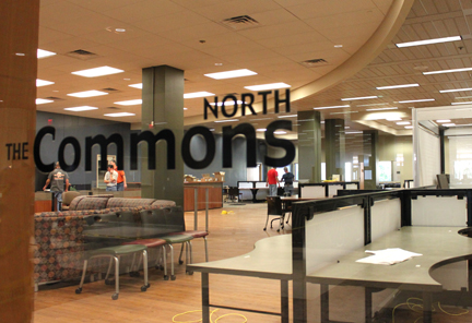 The Commons North at Hodges Library