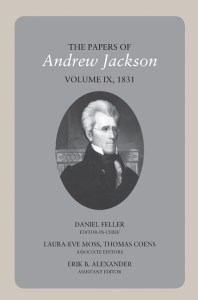 ninth volume jackson papers cover