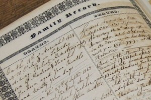 Jackson Bible Death Record