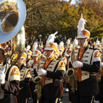 2013 Homecoming parade, TN vs Auburn, Pride of the South Land Band