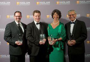 Haslam alumni award winners