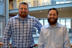 Tony Bova and Jeff Beegle of Grow Bioplastics.