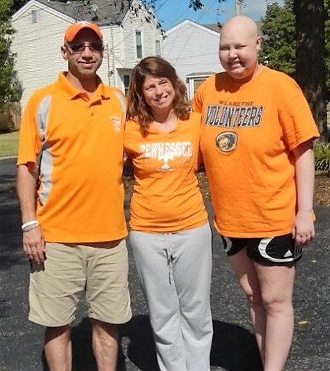 Makayla and her parents