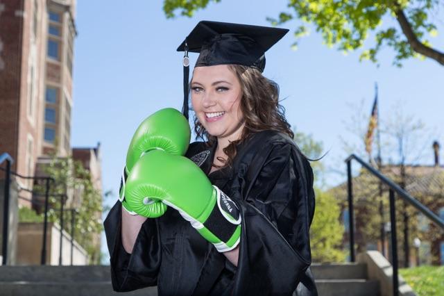 Makayla the graduate