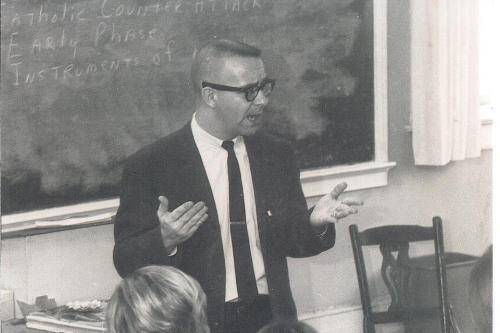 teaching history in 1969