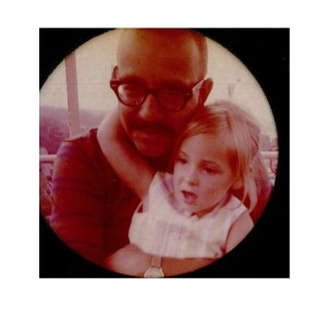 Charles O. Jackson with his daughter, Holly.