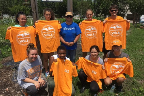 Volunteering with the Vols pix 1