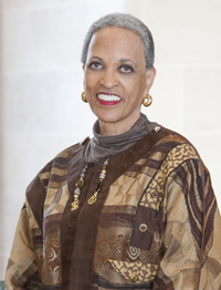Johnnetta Cole, director of the Smithsonian National Museum of African Art.
