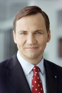 "Radoslaw ""Radek"" Sikorski will speak at UT's Baker Center Sept. 21."