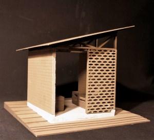 Andrew Tarsi's outdoor kitchen pavilion design.