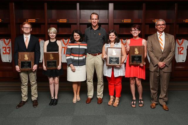 KNOXVILLE, TN - 2017.06.16 - Peyton Manning Scholarship Presentation