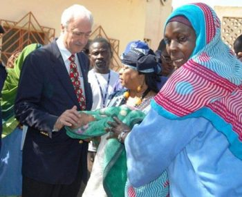 Ambassador Knight in Chad