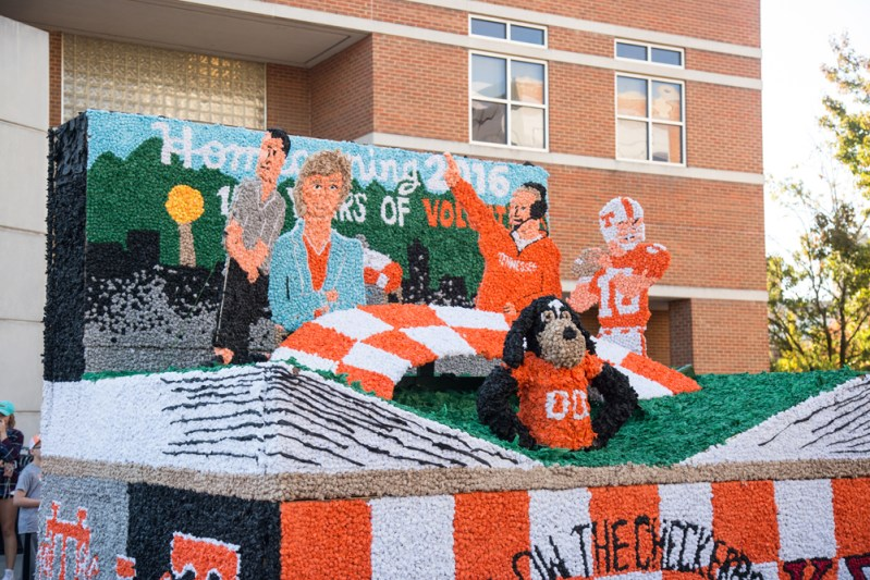 2016 Homecoming Parade Float - Photos by Kellie Crye Ward - 11.04.2016