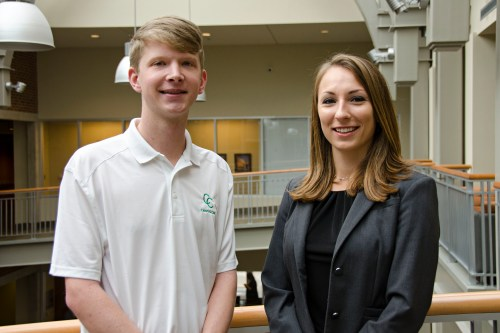 2017 Boyd Venture Challenge Winners_Ryan Cunningham and Lia Winter