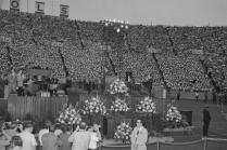 Billy Graham's East Tennessee Crusade during President Nixon's visit on May 29, 1970