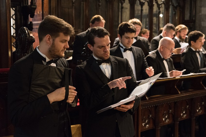 UT Chamber Singers EvensongChrist at Church Cathedral in Dublin, Ireland