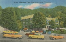 Mountain View Hotel, Gatlinburg, Tennessee. Ridley Wills Postcard Collection, MS.3781, Special Collections, University of Tennessee Libraries