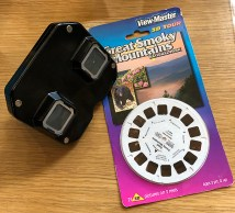 Vintage View-Master and reels featuring the Great Smoky Mountains National Park.