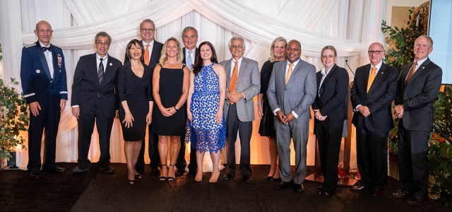 University of Tenenssee Alumni Awards Gala at Cherokee Country Club on September 7, 2018.