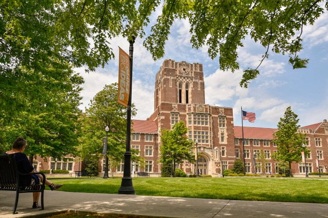 Ayres Hall as seen on May 04, 2018..Photo by Erik Campos