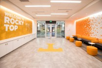 Front welcome area in the Admissions Visitors Center