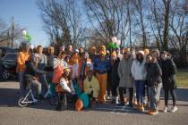 UT students, faculty, and staff joined the Knoxville community for the annual Martin Luther King Jr. Day parade on January 18, 2018. Photo by Steven Bridges