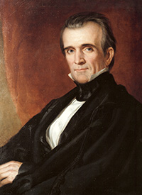James K. Polk courtesy of Polk Memorial Association