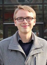 Jonathan West, master's student in civil engineering