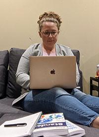 Katie Rosenberg, graduate student in information sciences