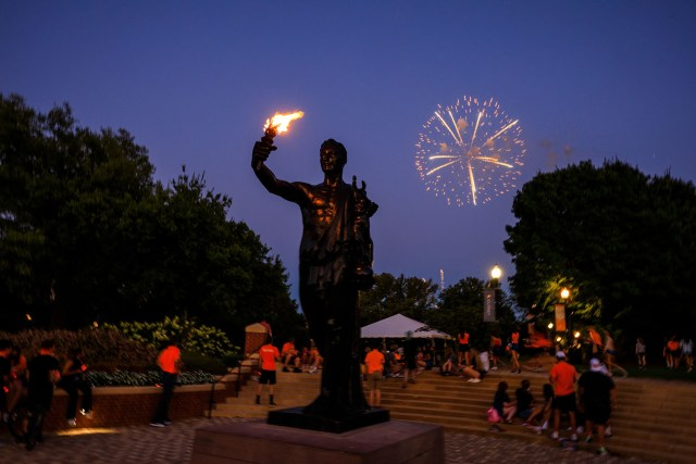 Virtual Torch Night across campus