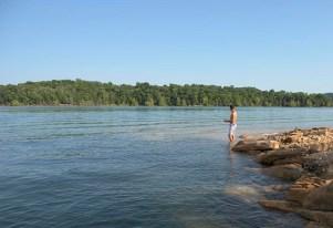 fishing on Norris Lake